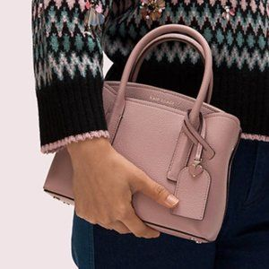 Kate Spade  margaux mini satchel in Pressed Flower